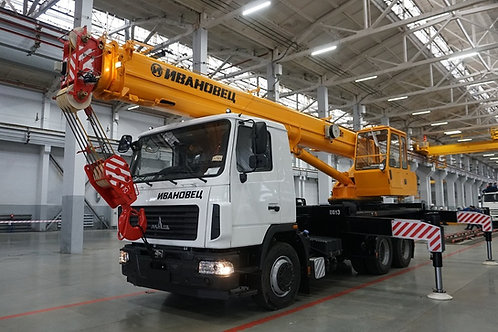 Автокран КС-45717А-1В на шасси МАЗ-6312С3