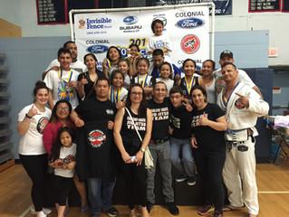 Carlson Gracie Team Stamford got a 3rd place overall at Connecticut State Brazilian Jiu Jitsu Federa