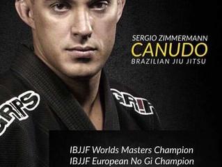 Seminar/Camp training Gi only professors CARLSON GRACIE Jr., Black Belt 6th Degree and Sergio Zimmer