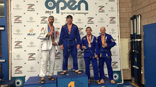 Carlson Gracie Team Stamford bring back gold from ibjjf Boston open this past weekend.