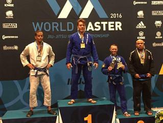 Carlson Gracie Team Stamford CT brings Gold Medal from World Masters IBJJF Champioship 2016 (8/27/16