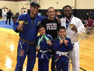 CARLSON GRACIE TEAM -CT/Cesar Pereira BJJ had strong performance from all participants at the BJJ CA