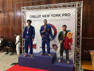 Good performances from Carlson Gracie Team -CT/Cesar Pereira BJJ at the UAEJJF New York Pro Feb 18 2