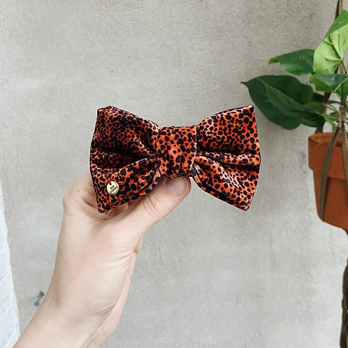 POPPY PANTHER BOW TIE