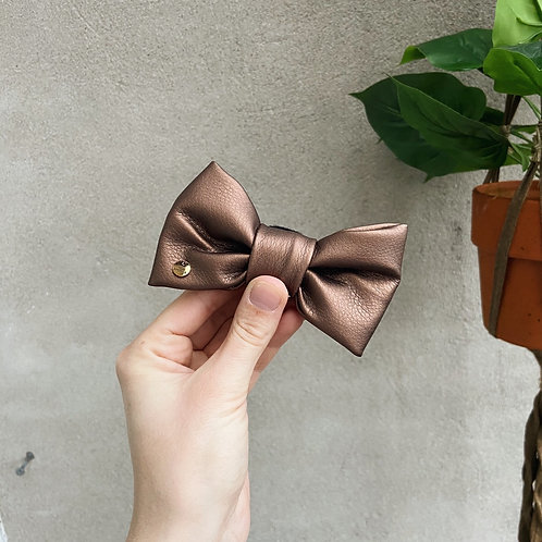 BRONZE COPPER BOW TIE