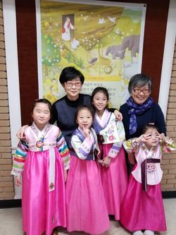 kids in hanbok