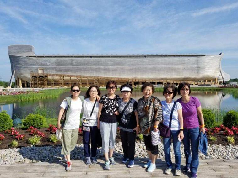 Ladies at Noah's Arc