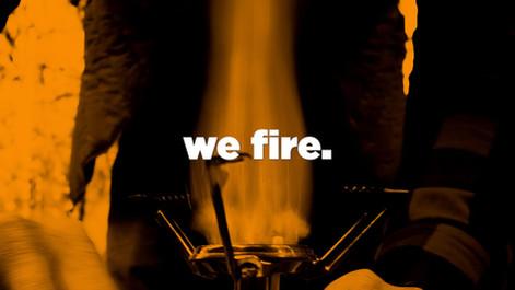 we fire.