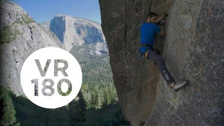 Higher Spire In a Push   Yosemite Higher Spire Free, Part 5 (VR180)