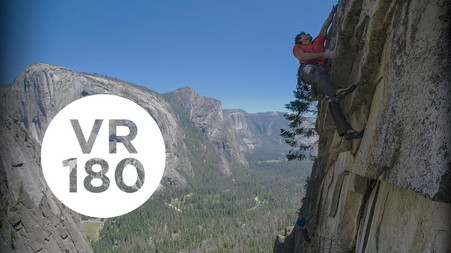 Lift The Car Off The Baby   Yosemite Higher Spire Free, Part 2 (VR180)
