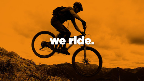 we ride.