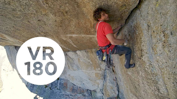 Exit Crack | Yosemite Higher Spire Free, Part 4 (VR180)
