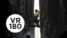 Chimney of Horrors | Yosemite Higher Spire Free, Part 1 (VR180)