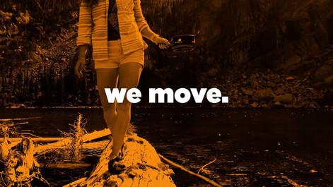 we move.