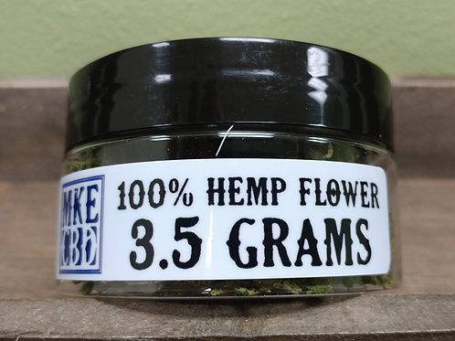 MKE CBD Hemp Flower 3.5 grams / 1/8oz.