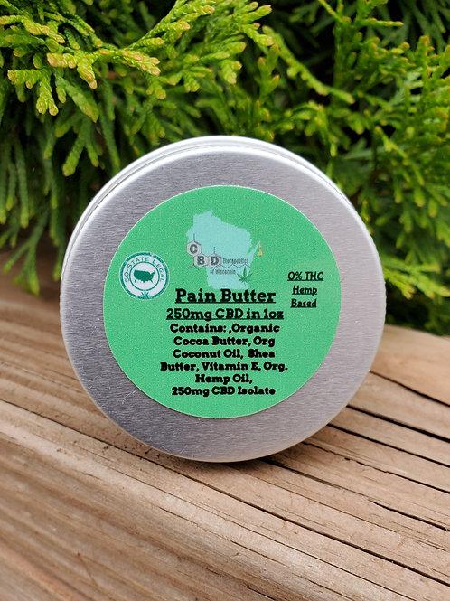 250mg CBD Pain Butter - 1oz.