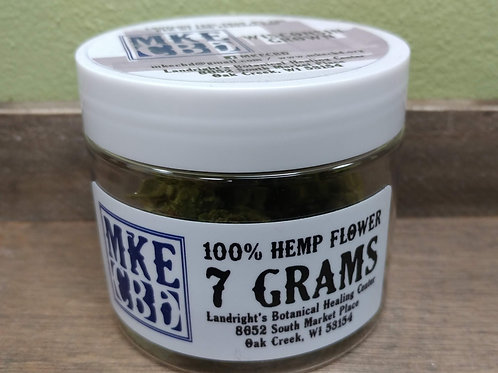 MKE CBD Flower 7 grams / 1/4oz.