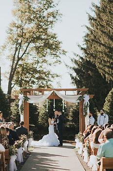 outdoor wedding near pittsburgh