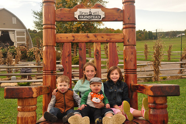 Irons Mill Farmstead giant rocking chair