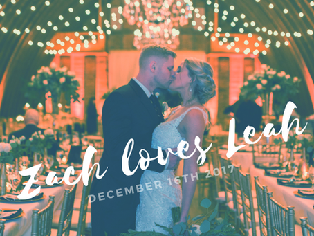 Zach Loves Leah 12.16.17