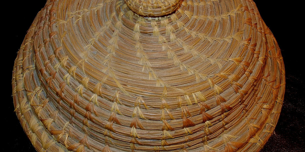 Sold Out! - Pine Needle Basket Weaving