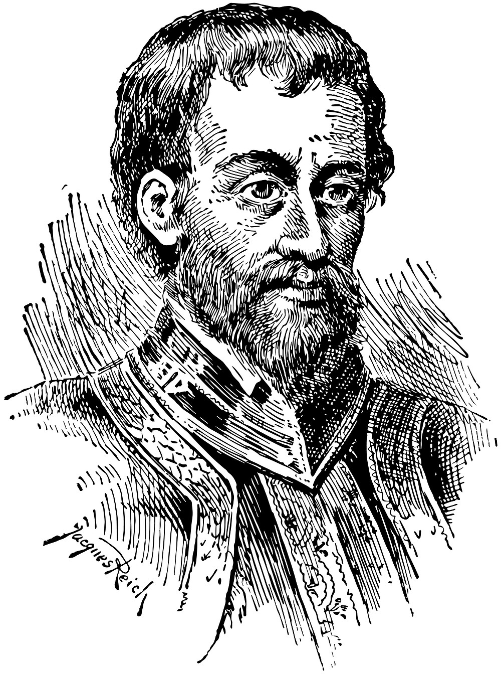 Portraite of Hernando de Soto