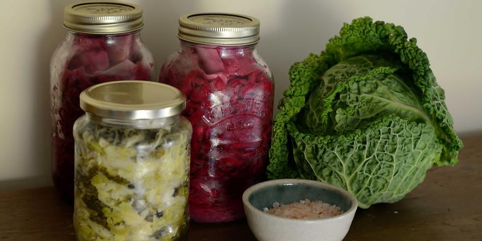 Fermented Sauerkraut and Veggies