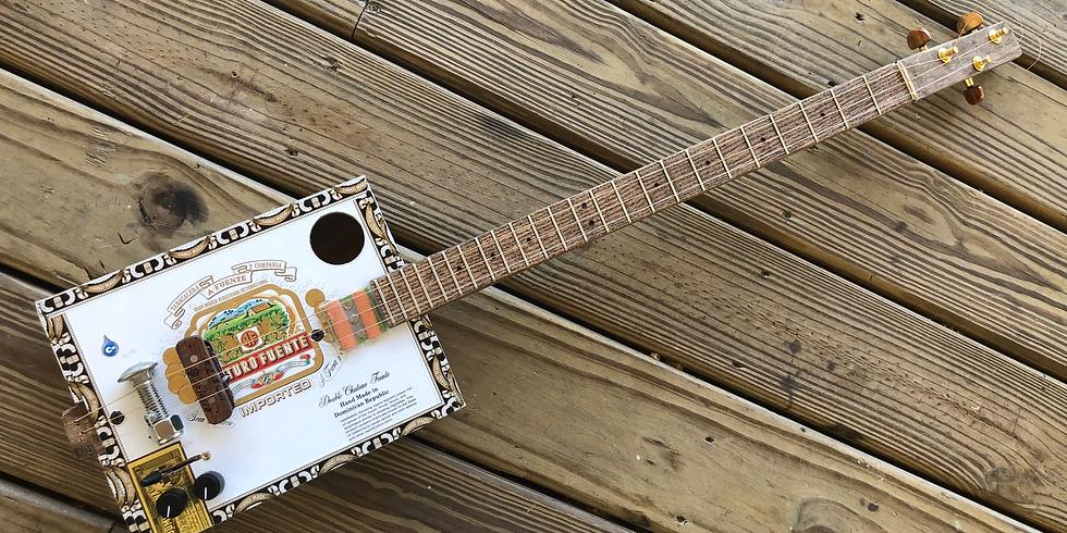 Electric Cigar Box Guitar Workshop
