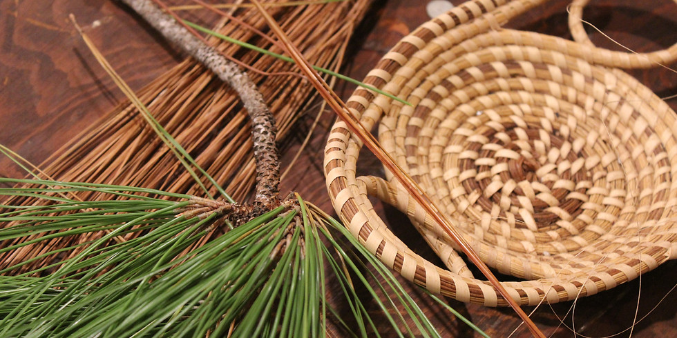 Sold Out! Pine Needle Basket Weaving