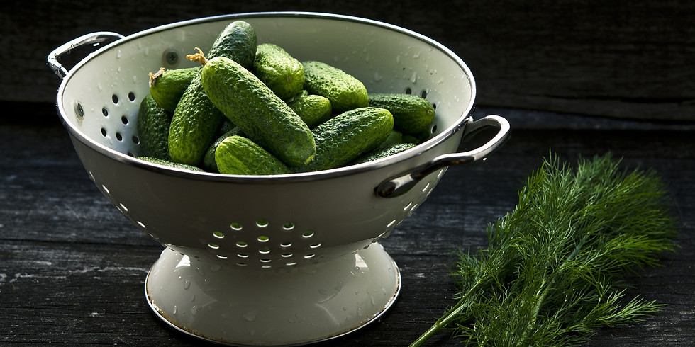 Canning 101: Pickles | $33
