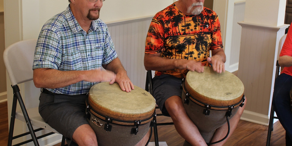 Feel the Beat Drumming Class