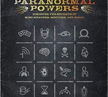Handbook of Paranormal Powers by Brian Haughton & Book Giveaway Winner!