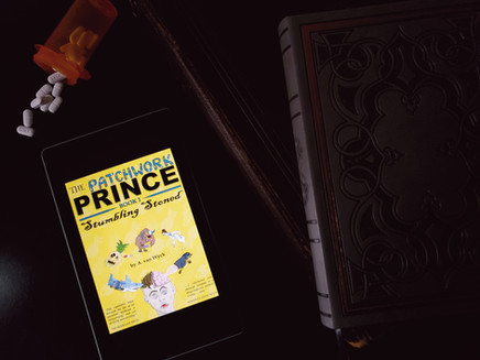 """Book Tour: """"The Patchwork Prince: Stumbling Stoned (Book 1)"""" by A. Van Wyck"""