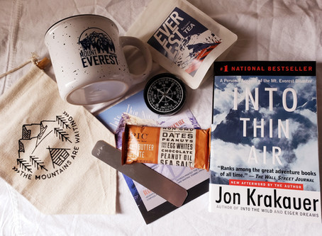 Coffee and a Classic Book Subscription Box Review - November 2019