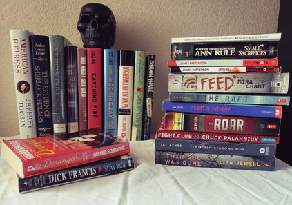 Horror Book Haul #1: Thrift Stores