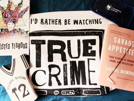 Creepy Crate True Crime and Horror Subscription Box Review - August/September 2020