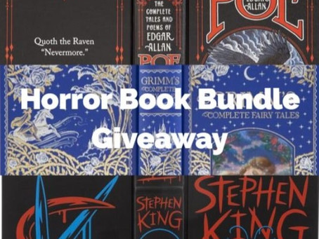 Horror Book Bundle & T-Shirt Giveaway!
