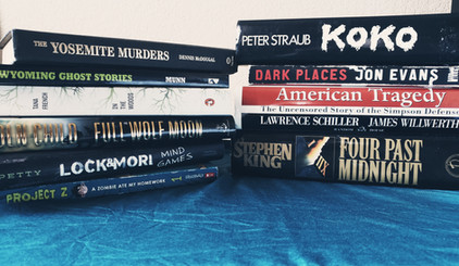 Horror Book Haul #4: Used Bookstore