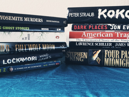 Horror Book Haul #4: Used Bookstore