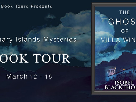 """Book Tour: """"The Ghost of Villa Winter"""" by Isobel Blackthorn"""