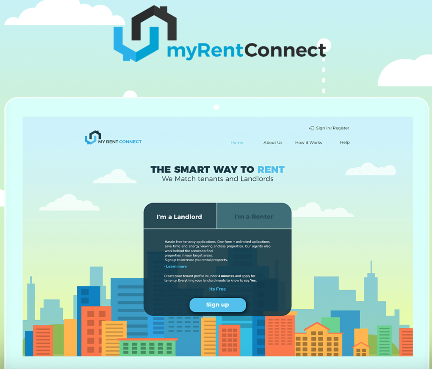 Myrentconnect Website