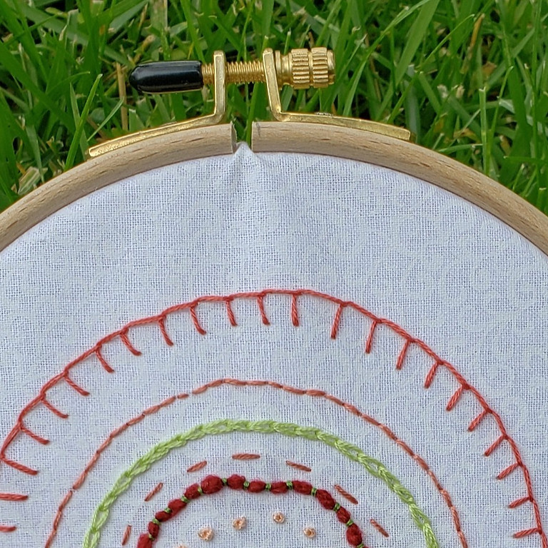 Basic Stitches - Embroidery 101 - 6/6