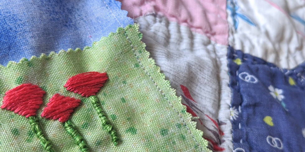 Starter Stitches - Embroidery 101