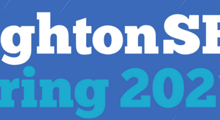 Vabilo za udeležbo na brezplačno konferenco brightonSEO – Spring 2021