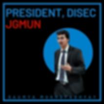 DISEC President - Saumya Mukhopadhyay.pn