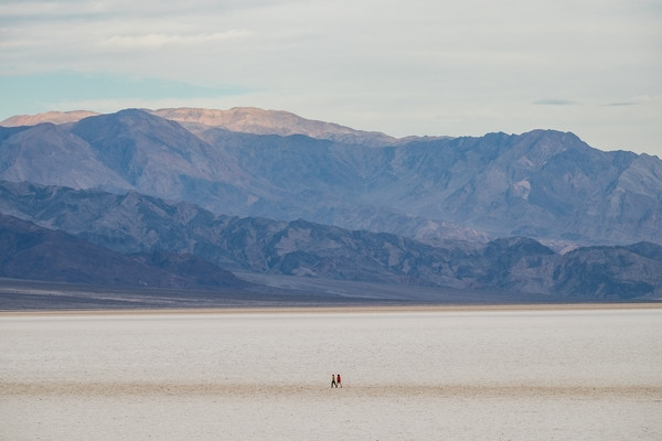One of the greatest things about Badwater Basin: hikers get to blaze their own trail.