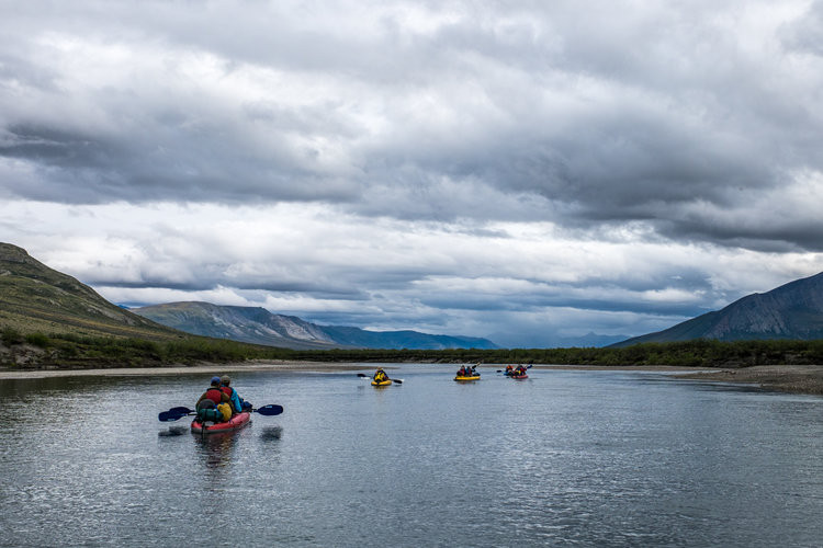 Floating down one of six of Alaska's designated 'Wild and Scenic Rivers': the mighty Noatak!