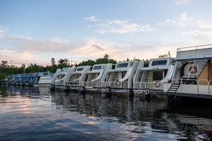 Voyagaire offers a variety of houseboat sizes/styles to choose from. Book in advance, this is a very popular way to explore the lake country in northern Minnesota and it fills up fast.