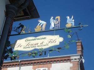Sign at De Sousa  Look at the Blue Sky