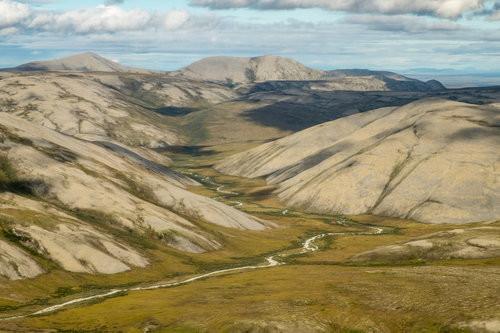 Kobuk National Park in Arctic Alaska.